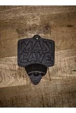 Ouvre-bouteilles Man Cave brun