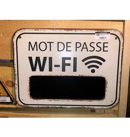 Affiche Mot de passe WI-FI