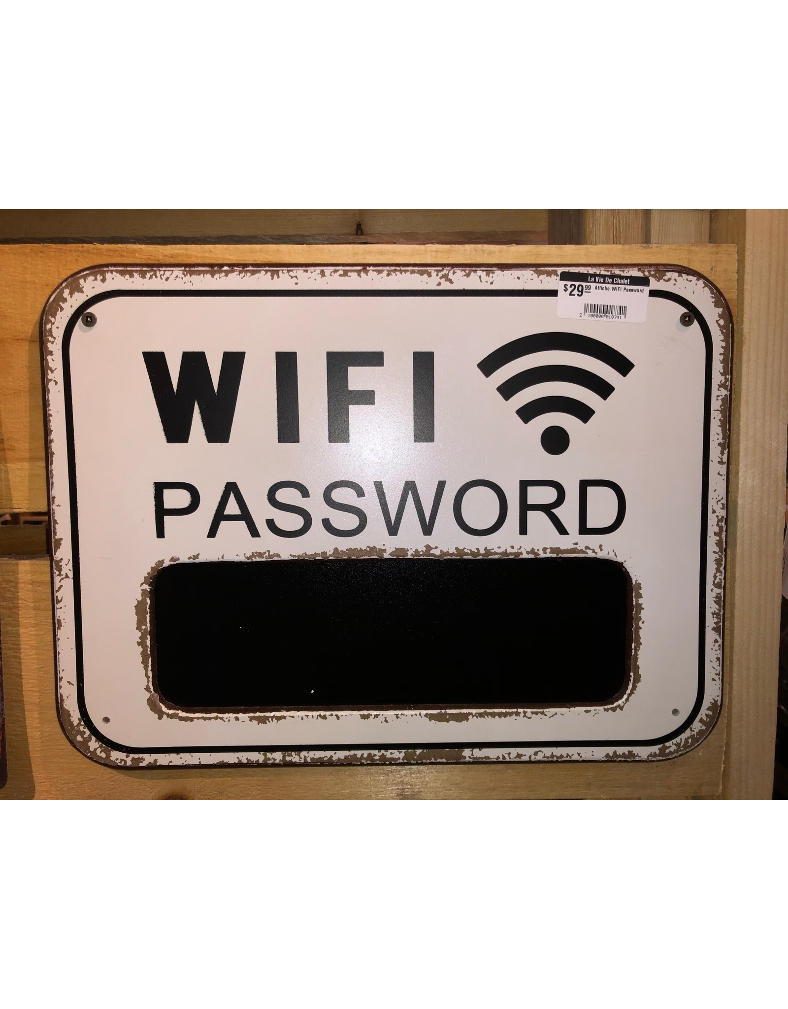 Affiche WIFI Password