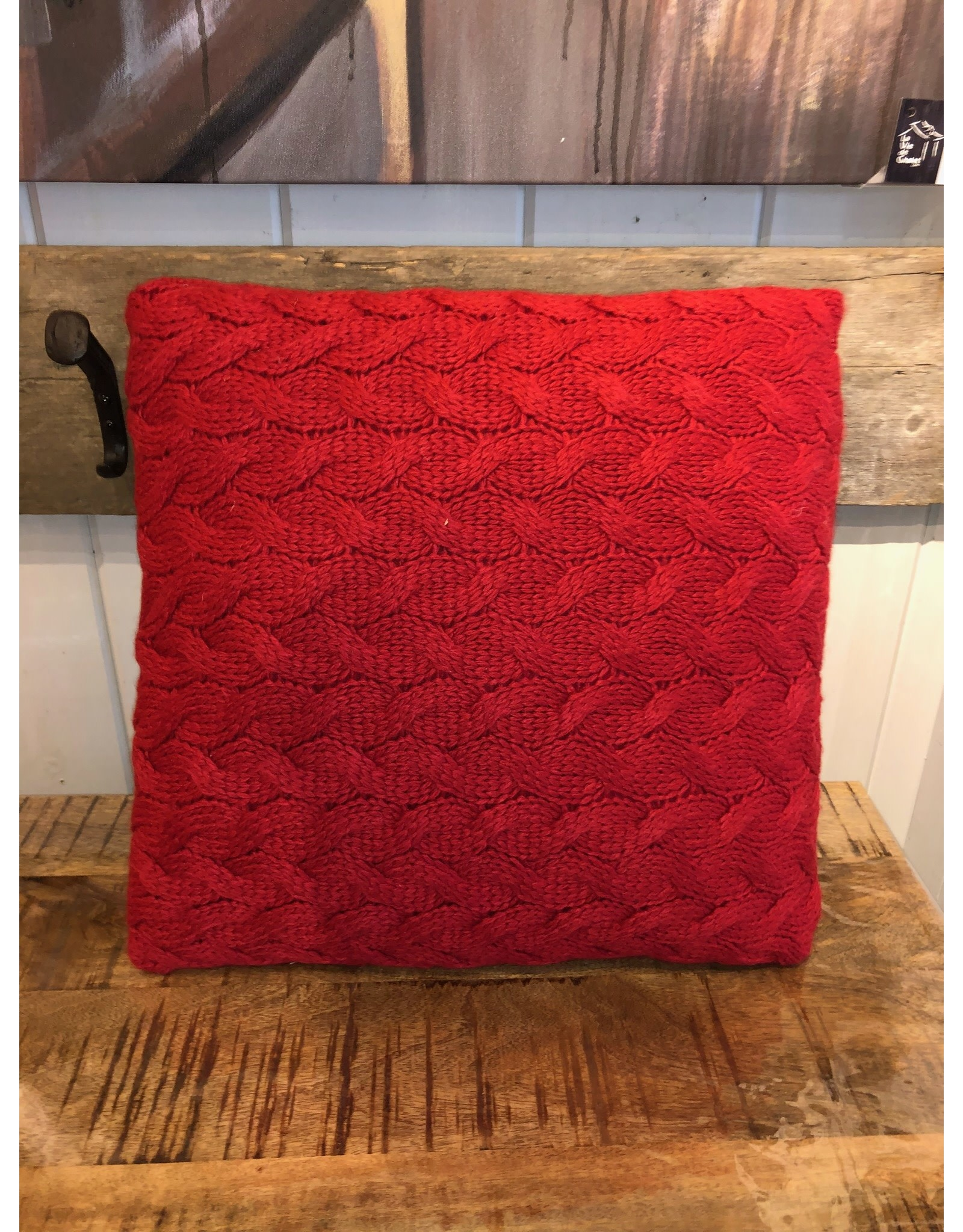 Coussin Rudolph rouge