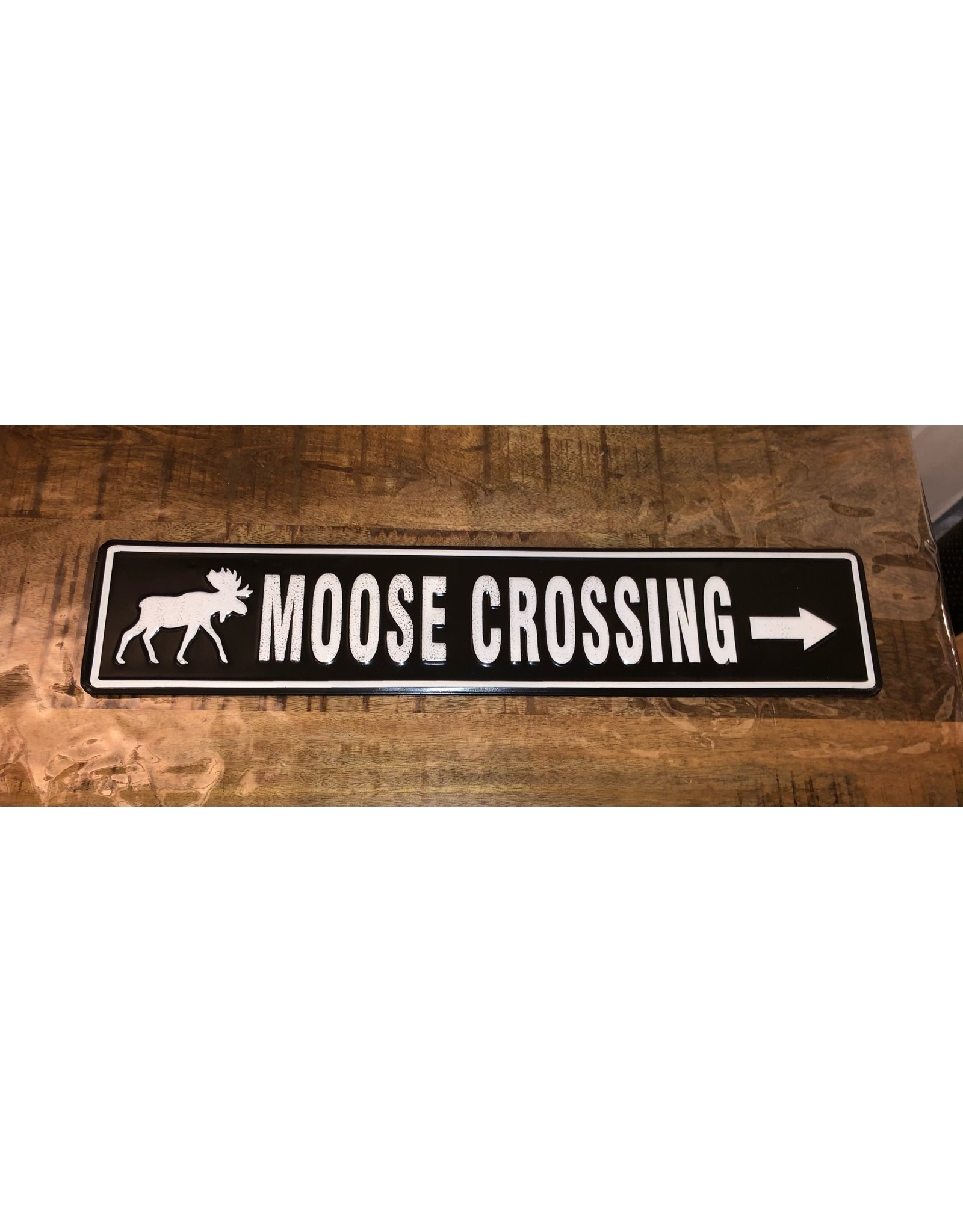 Affiche Moose crossing
