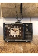 Horloge de table télévision