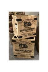 Boîte de rangement Cucina en bois de manguier- grande