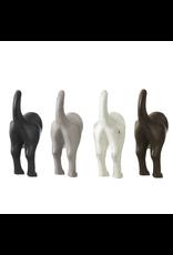 Crochet gris- queue de chien