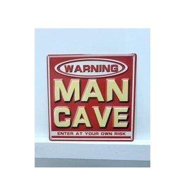 Affiche - Man cave rouge