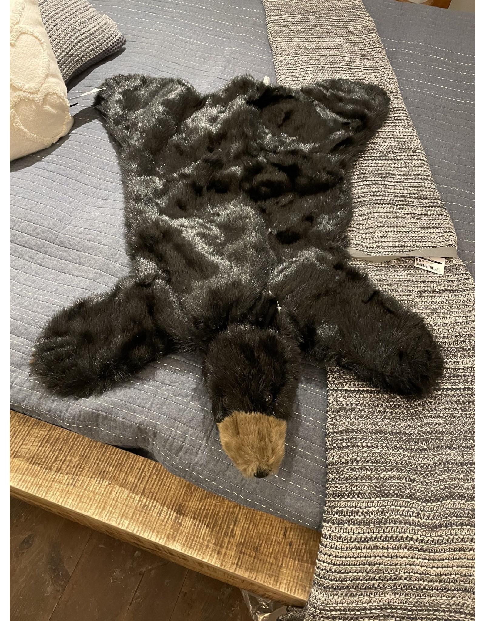 Tapis-Peau d'ours en peluche