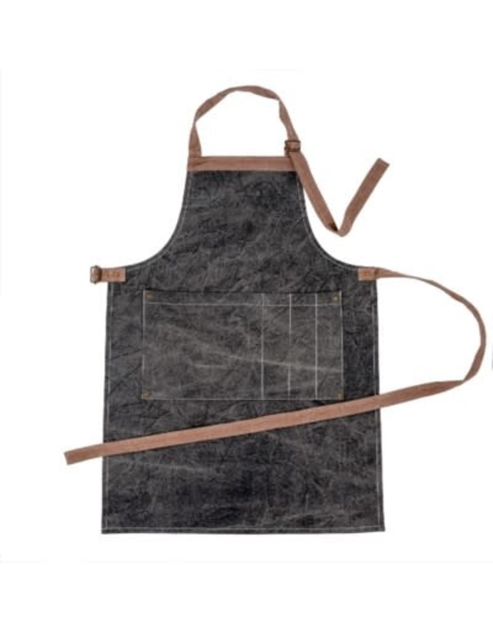 Tablier de cuisine charbon
