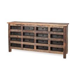 Buffet en bois recyclé - Wilton l