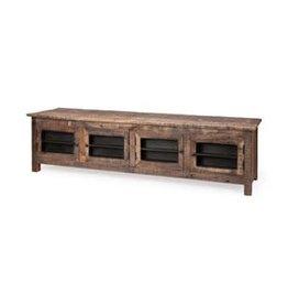 Meuble télé en bois recyclé Wilton