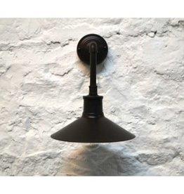 Lampe murale brune