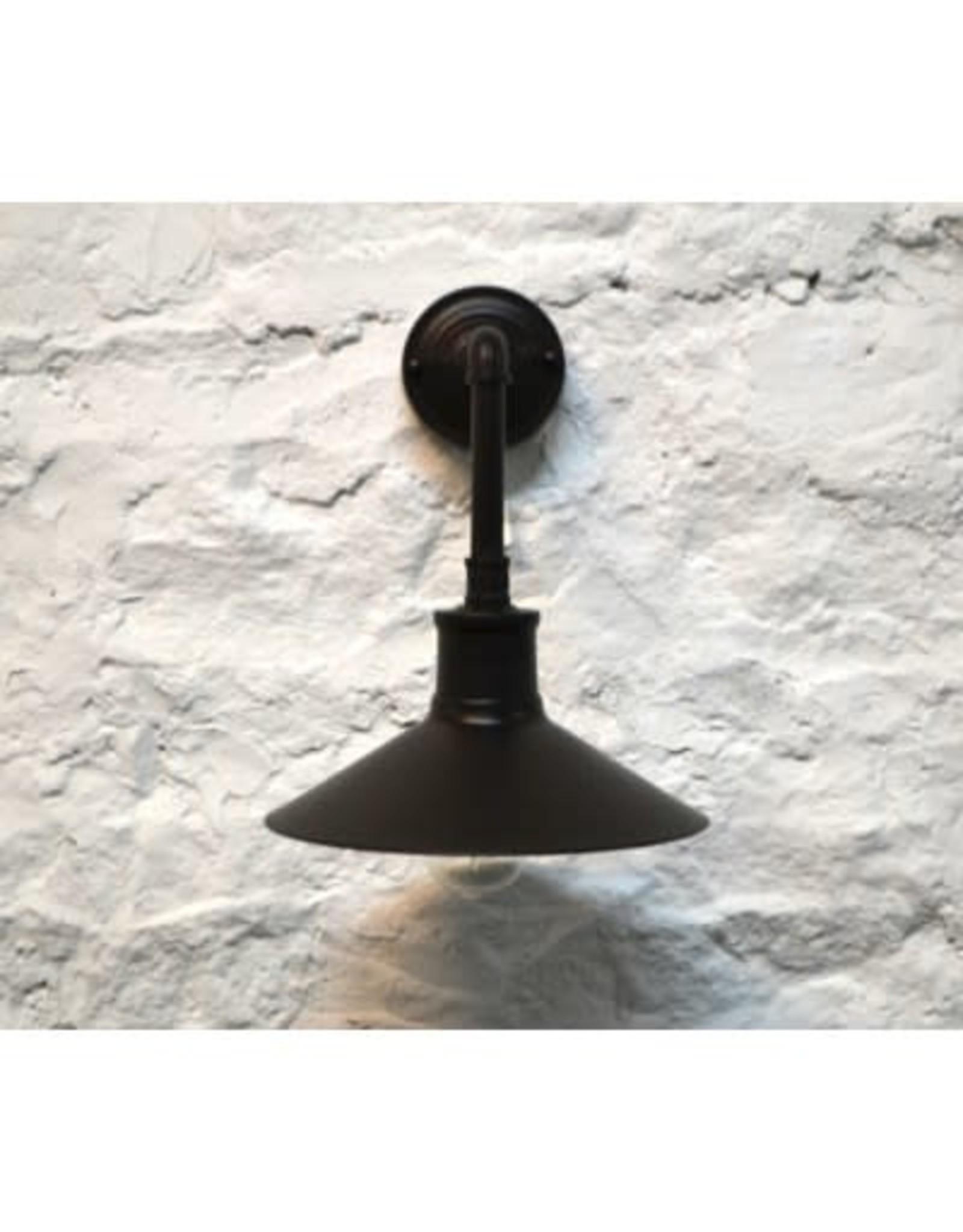 Lampe murale noire