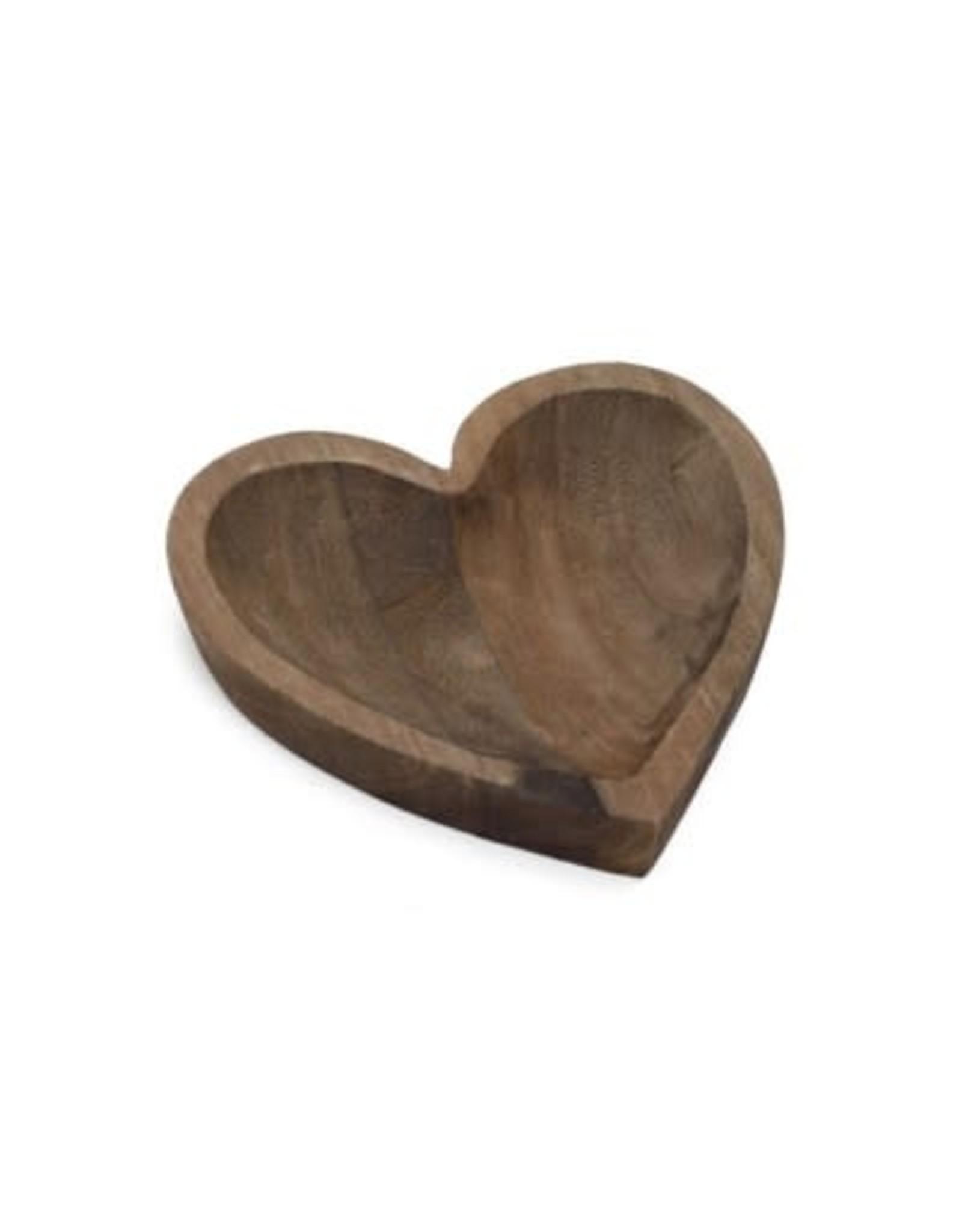 Coeur décoratif en bois
