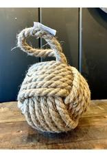 Boule en corde de jute
