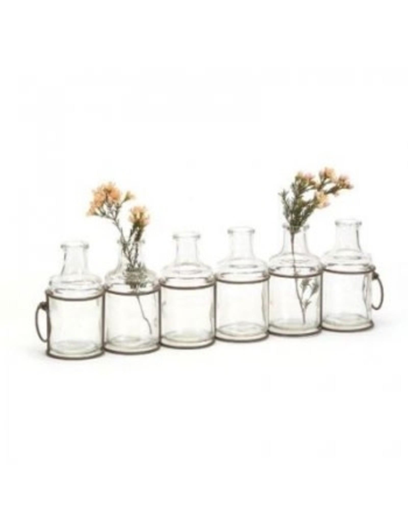 Pots en verre (6)