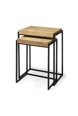 Tables d'appoint bois et métal