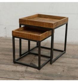 Agence Viva Tables d'appoint en bois naturel