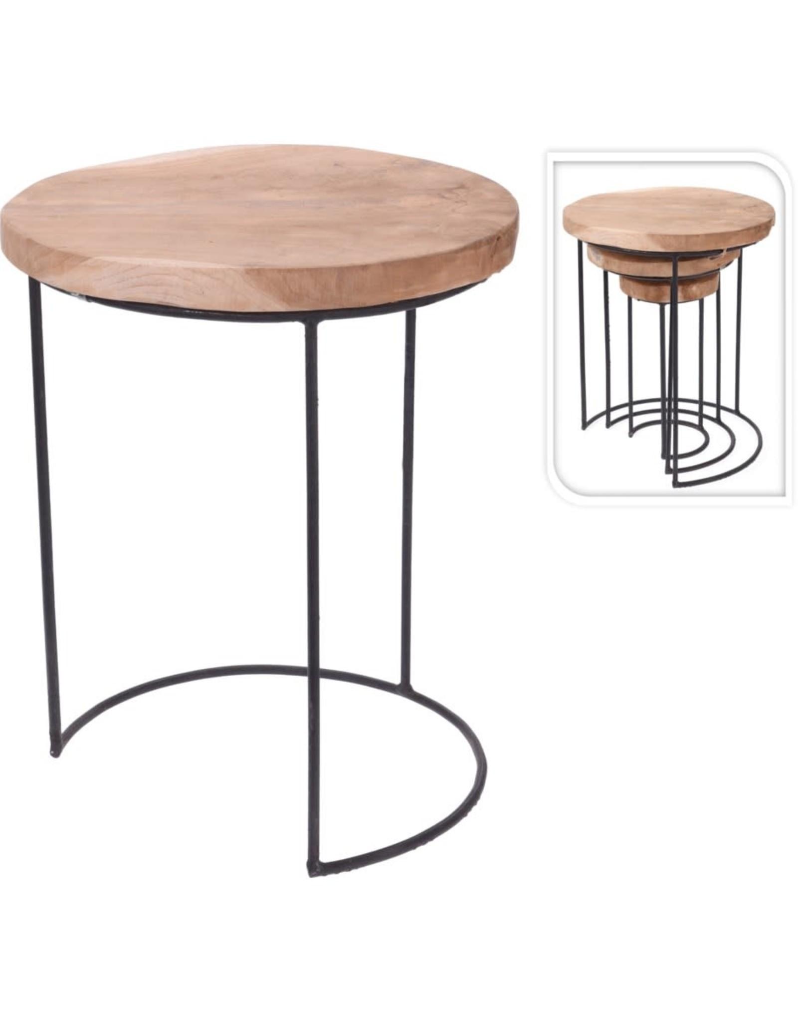 Tables d'appoint en teak