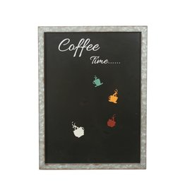 Tableau noir aimanté - Coffee Time