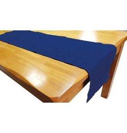 Texstyles Deco Chemin de table bleu marine