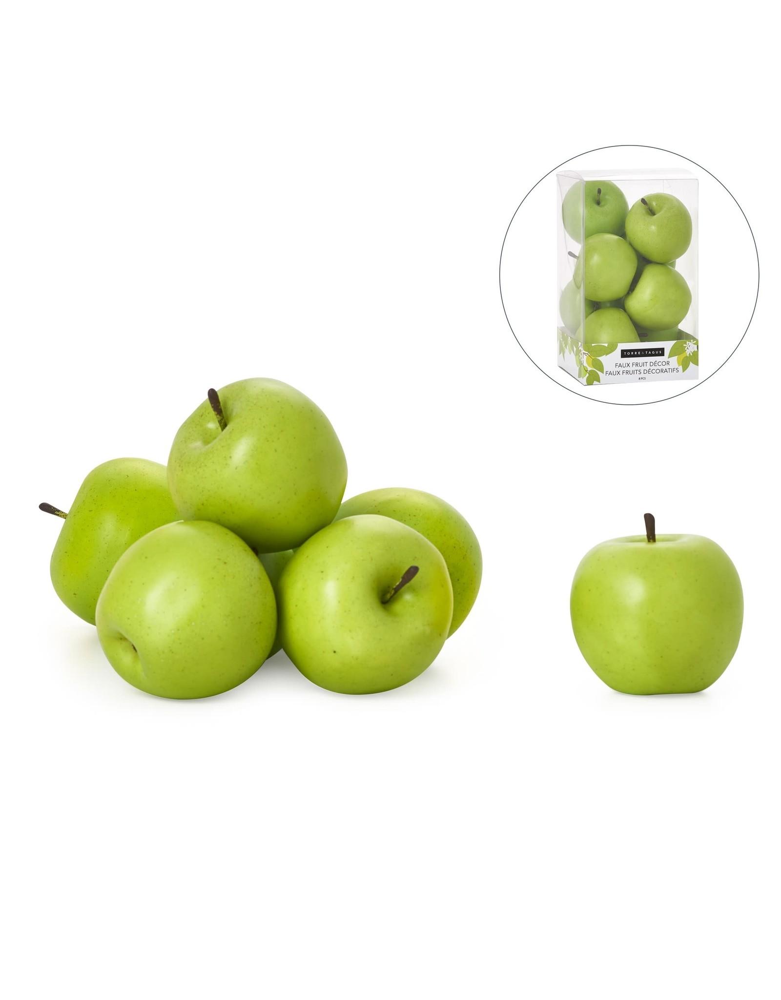 Pomme verte décorative  1 unité