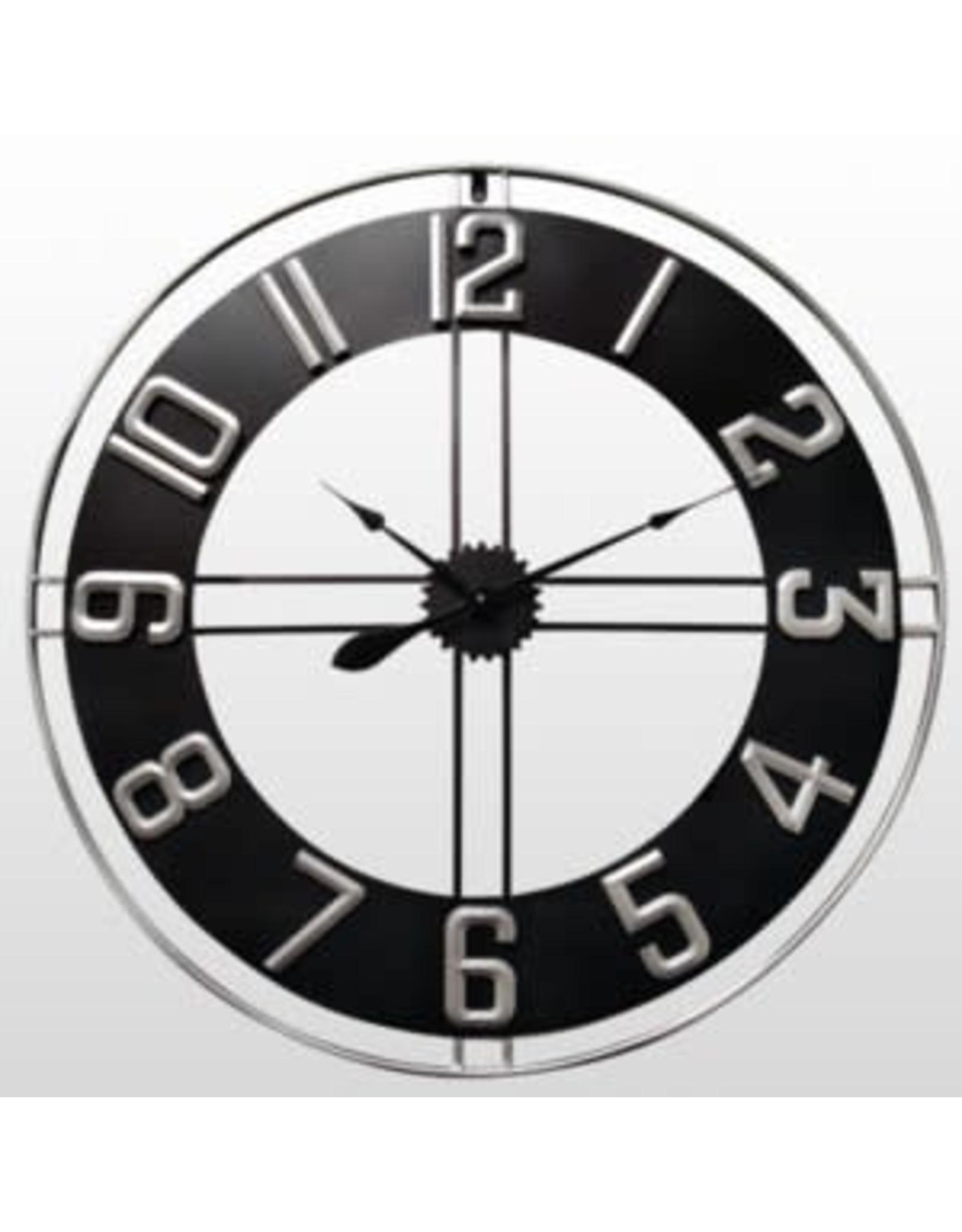 """Horloge en métal ajouré  35 3/4"""" d"""