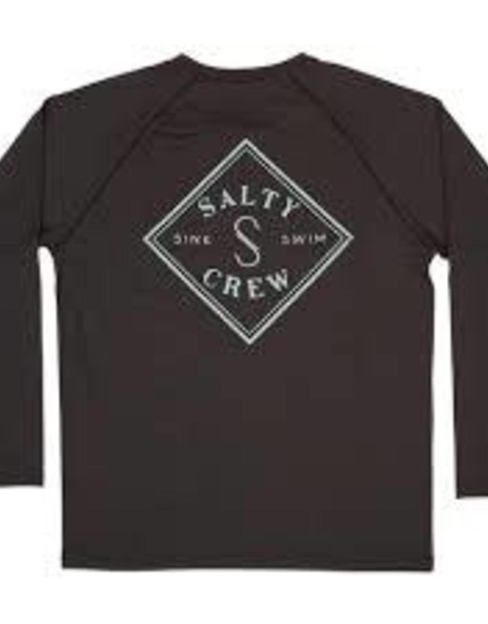 salty crew Salty Crew Tippet Pinnacle spf40 tech raglan 20135155