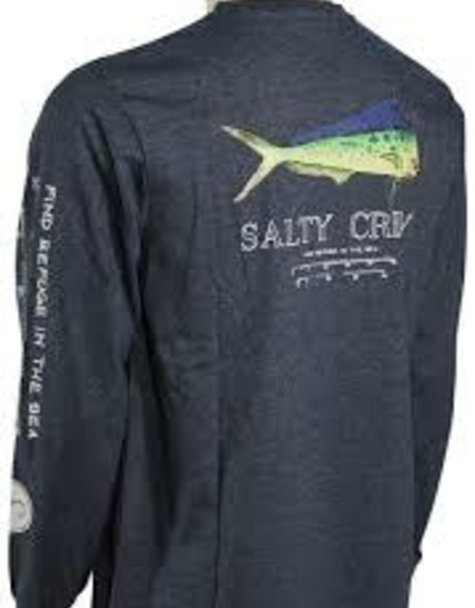 salty crew Salty Crew Angry Bull L/S tech Tee 20135024