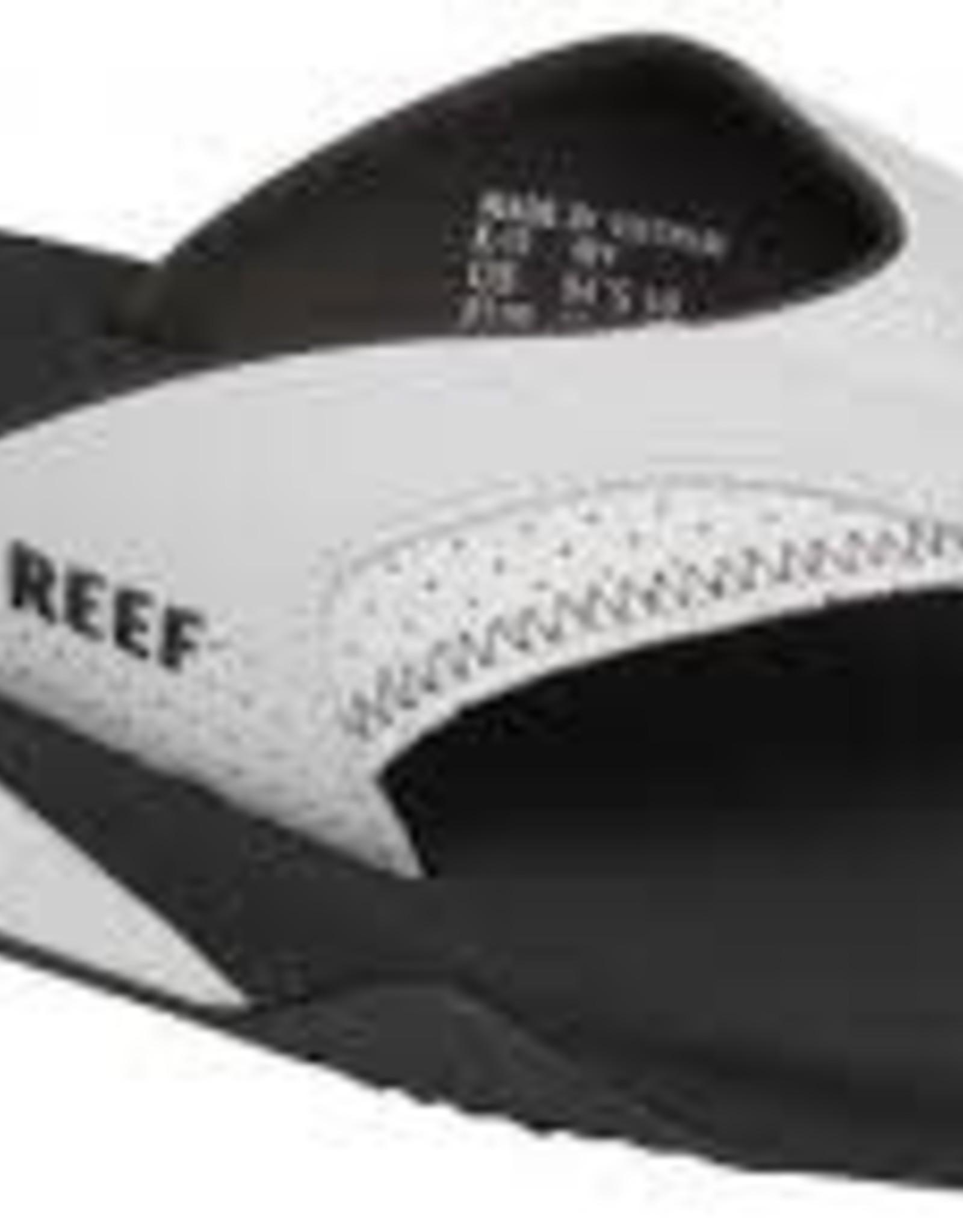 reef reef fanning grey/white mens