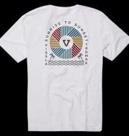 vissla vissla sun cycle tshirt white style m421psun