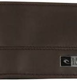 rip curl rip curl ripper block wallet brown