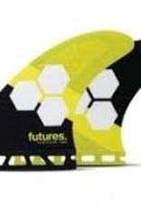 futures Futures AM2 HC Thruster yellow/black