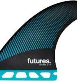 futures futures R6 HC thruster size medium. Teal black