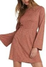Roxy roxy strolling through longsleeve dress arjkd03175