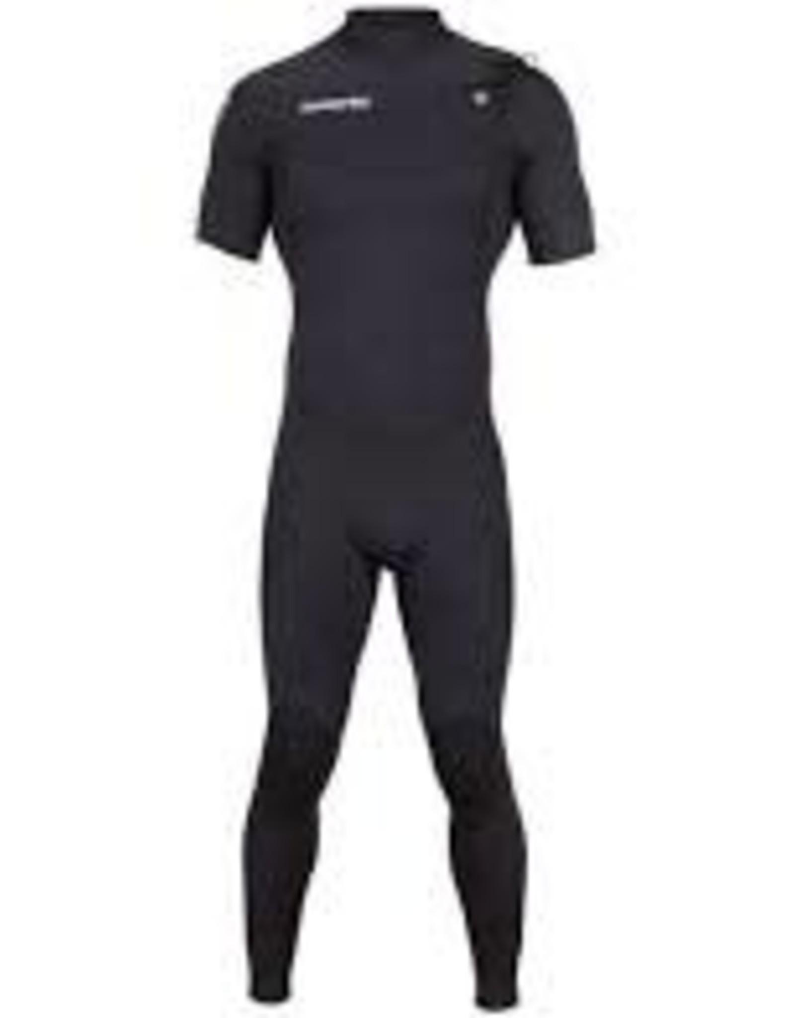 hyperflex hyperflex short sleeve fullsuit chest zip