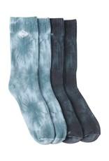 billabong billabong tie dye crew sock
