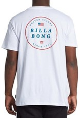 billabong Billabong USA Mens Rotor S/S Tee M4041BRU