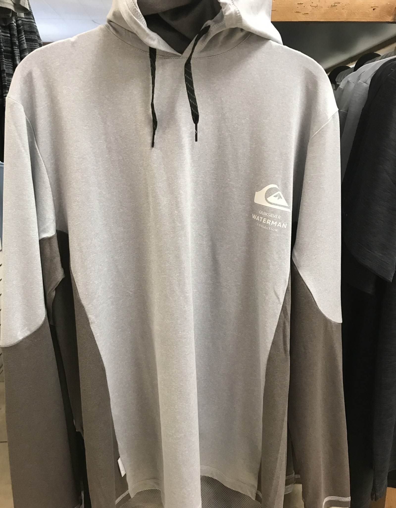 quicksilver quiksilver angler hooded l/s