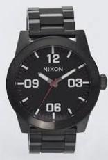 nixon Nixon corporal ss all blk / white