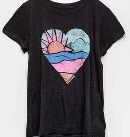 billabong billabong love the sea s/s g4842blo