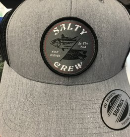salty crew salty crew double down retro trucker hat
