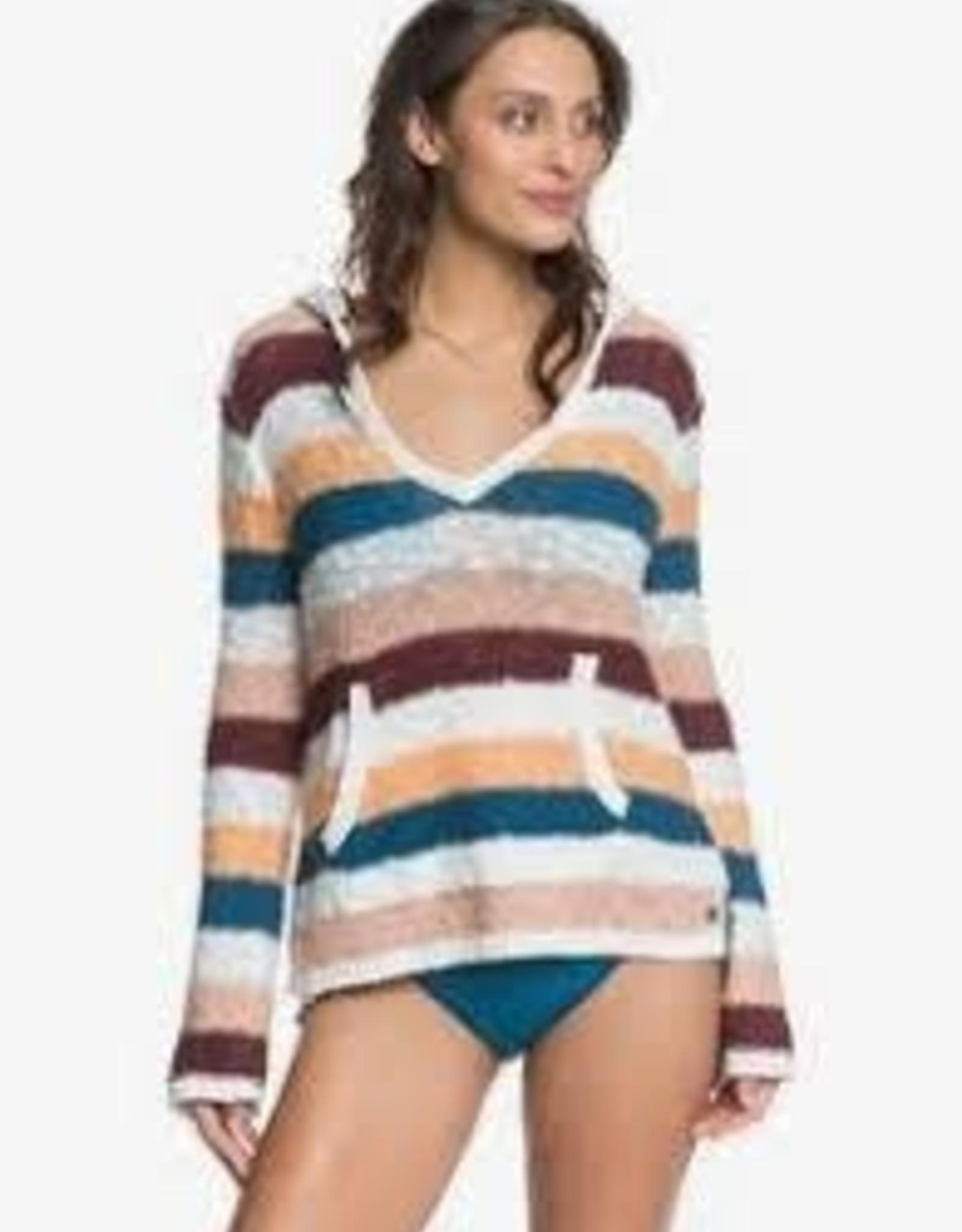 Roxy Roxy Hang With Me Stripe Hoodie ERJSW03424