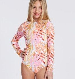 billabong Billabong Girls Oceans Away L/S Bodysuit Bikini ABGWR00100