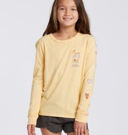 billabong Billabong Girls Love More L/S Tee