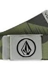 volcom volcom circle web belt camo d5932050