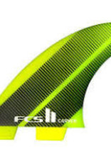 FCS fcs neo glass carver thruster set medium