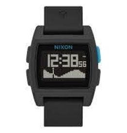 nixon nixon base tide watch black/blue