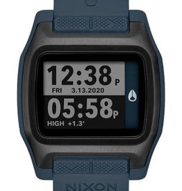 nixon nixon high tide watch dark slate
