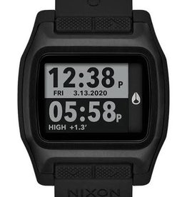 nixon nixon high tide watch black