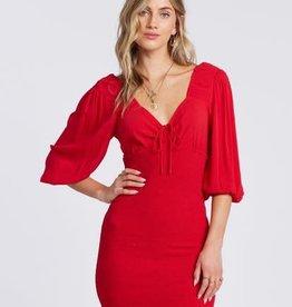 billabong Billabong Amalfi Nights Smocked 3/4Slv Dress ABJWD00122