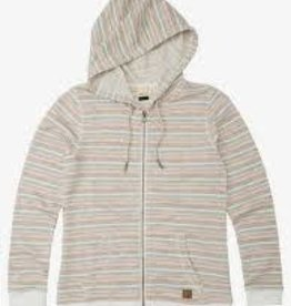 Roxy roxy trippin stripes zip hoody